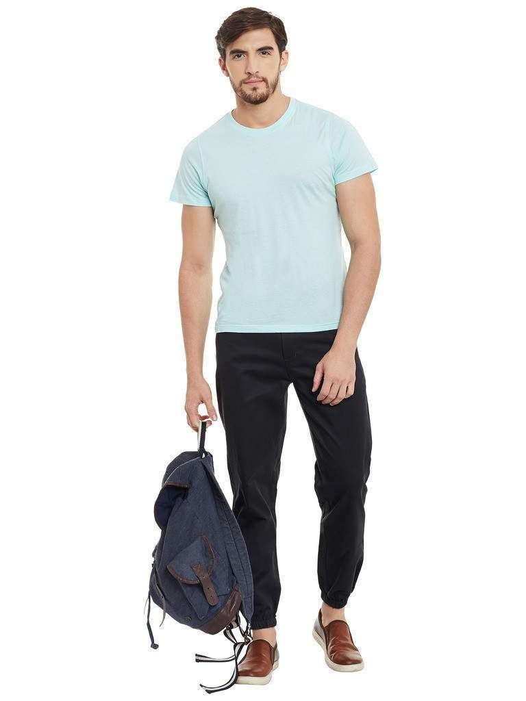 Atorse Mens Joggers Pants in Greysh Green Colour