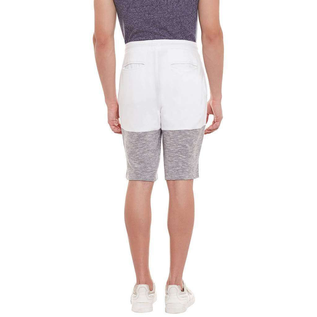 Atorse Mens Shorts With Cut n Sewn Detail and Colour Blocking