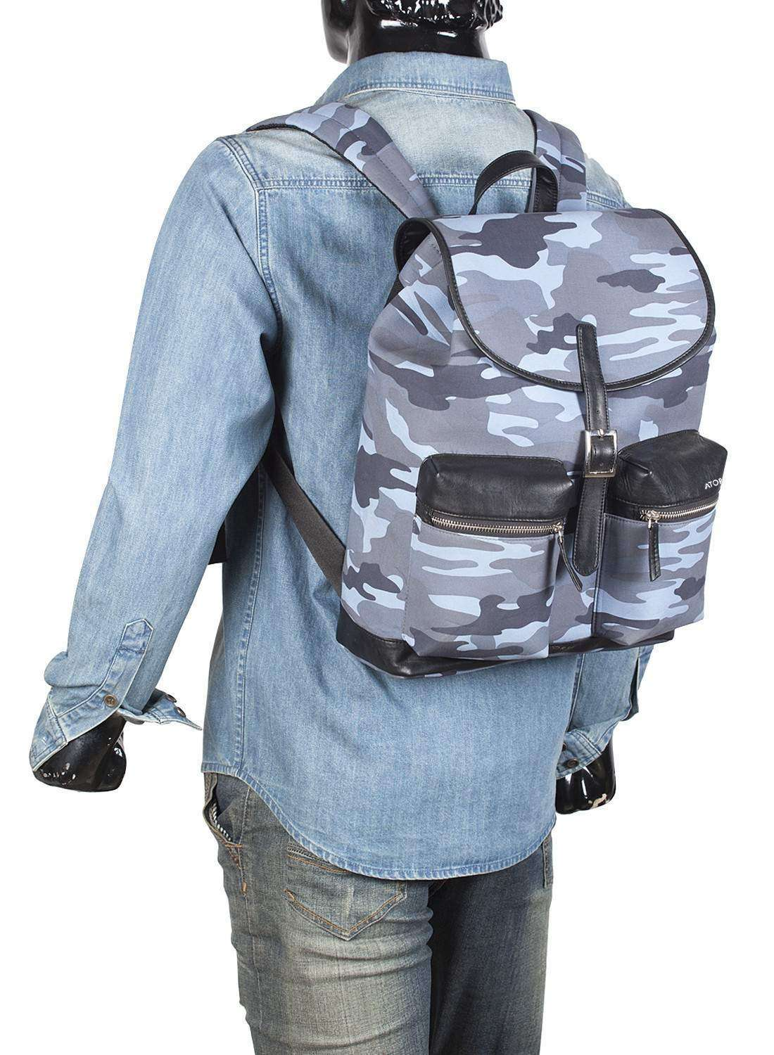 Blue Nordic Arms Backpack