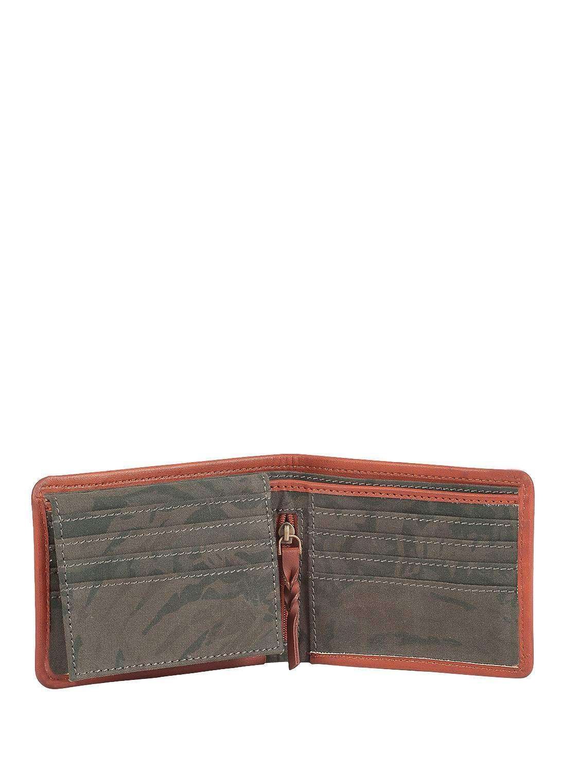 Dark Green Song of summer wallet