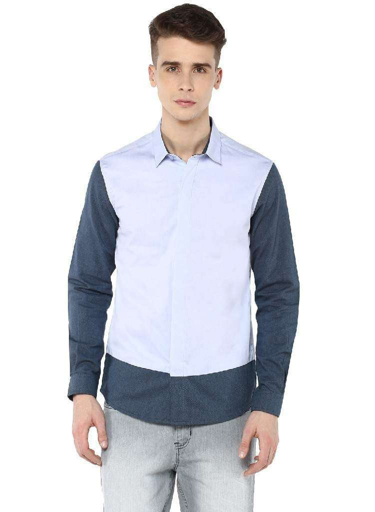 Full Sleeve Shirt, Cut & Sewn with Concealed placket
