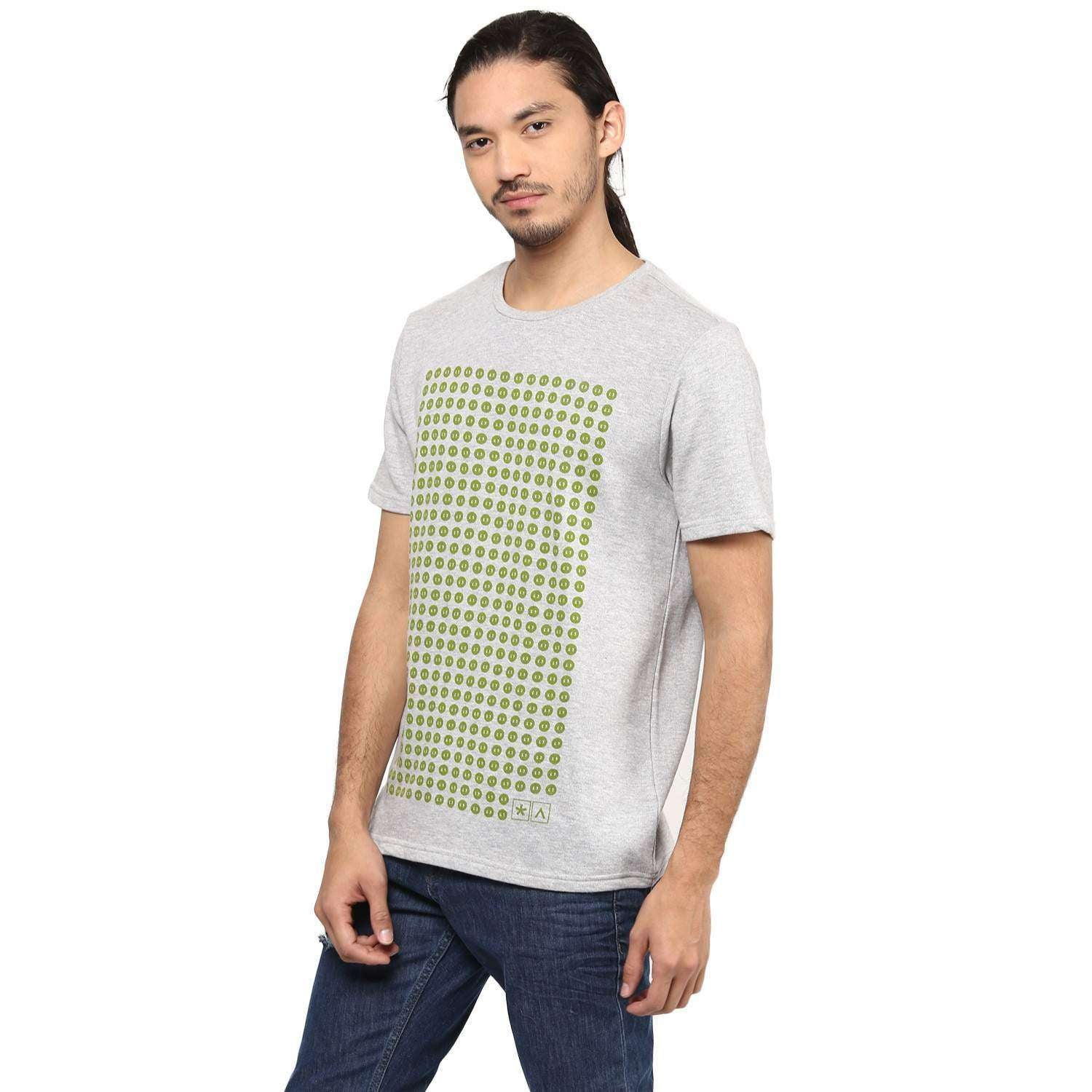 Half Sleeve T-shirt With Chest Print