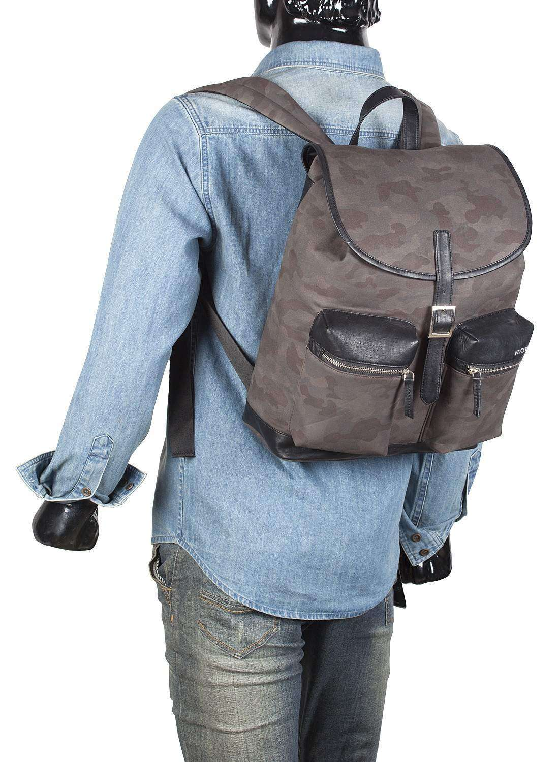 Khaki Nordic Arms Backpack