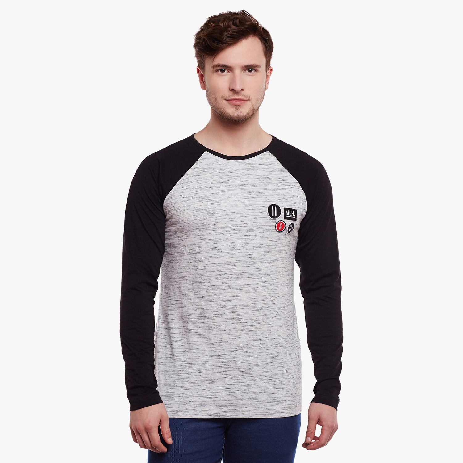 Atorse Full Raglon sleeve T-shirt