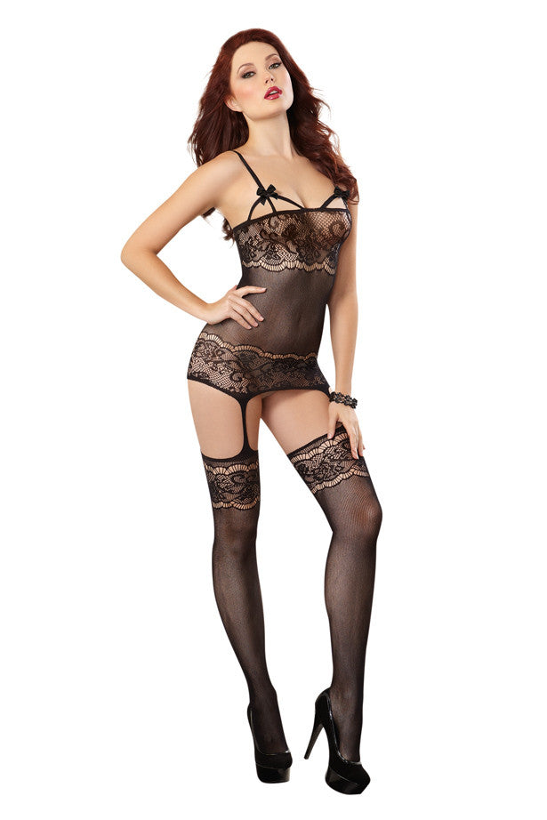French Lace Body Stocking