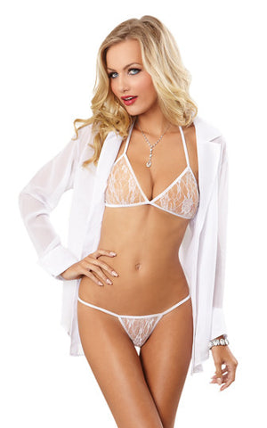 Love Me Eyelash Lace Robe