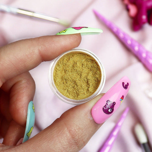 GOLD RUSH - UC'S PRISMATIC PIGMENT - Unicorn Cosmetics