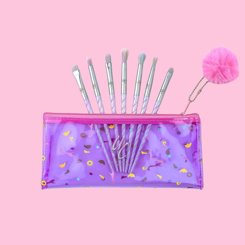 CLASS OF 86' 7 PIECE EYE BRUSH SET - Unicorn Cosmetics
