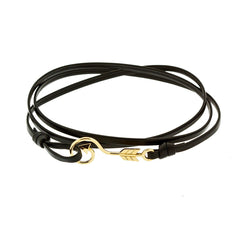 Mara Arrow bracelet in 18k Gold - Buddha Jewelry
