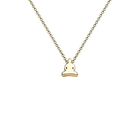 Buddha Necklace in 18k Gold - Buddha Jewelry