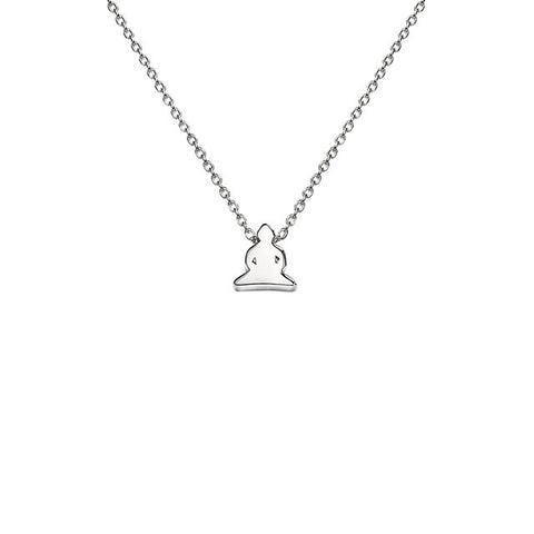 Buddha Necklace in Silver - Buddha Jewelry