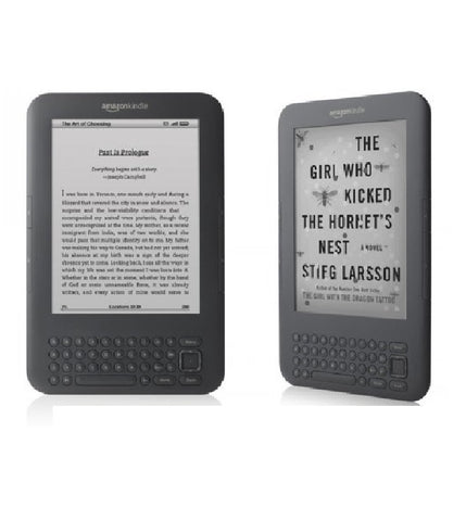 "Amazon Kindle Keyboard, Wi-Fi, 6"" E Ink Display"