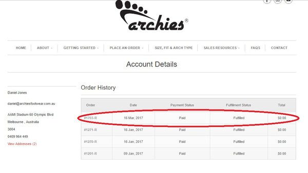 Archies_Footwear_Account_Details_Invoices