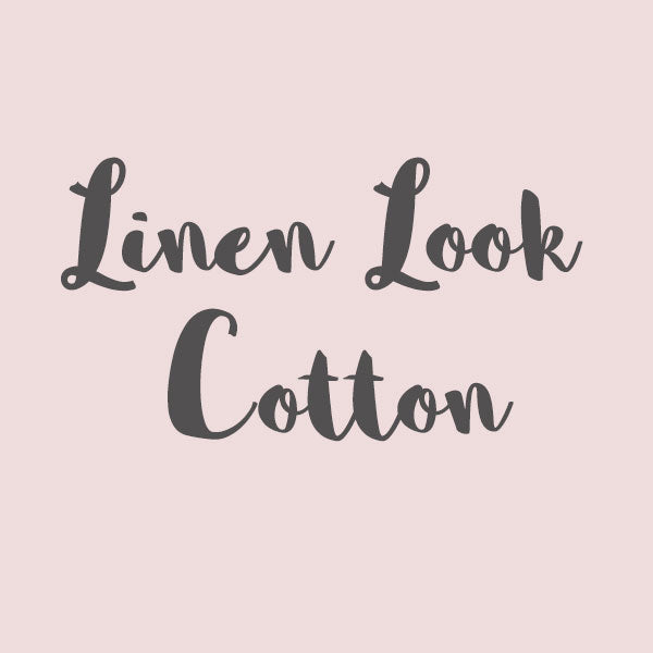 Linen Look Cotton