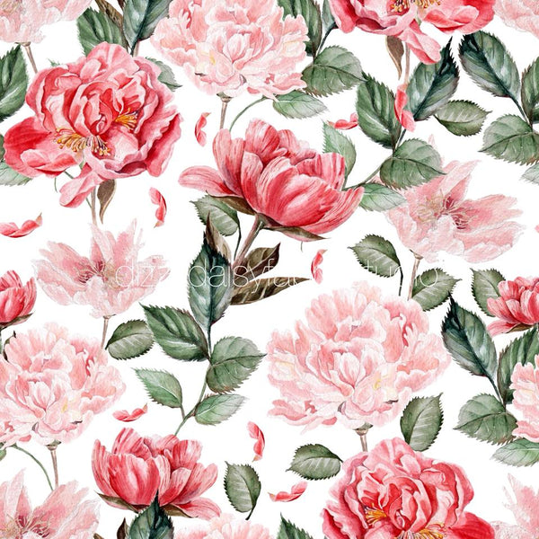 Christmas Floral Pattern 1 - Retail