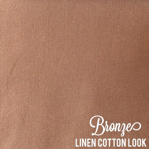Bronze - Linen Look Cotton