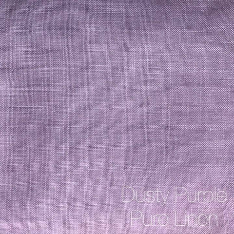 Dusty Purple - Pure Linen