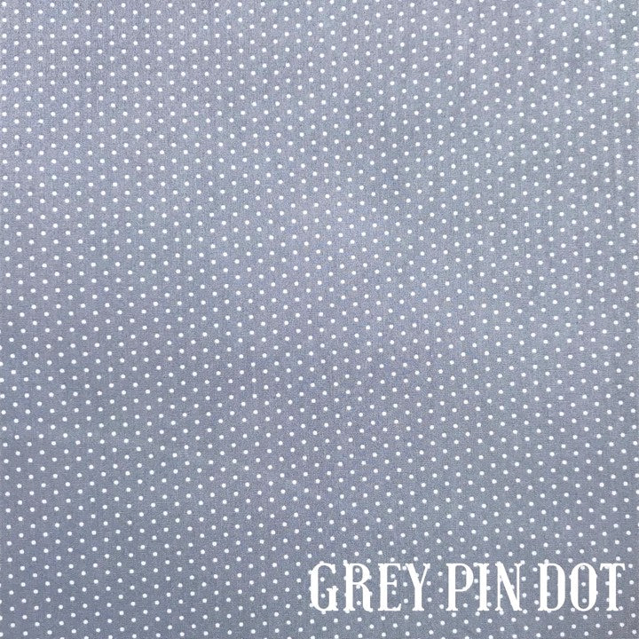 Grey Pin Dot