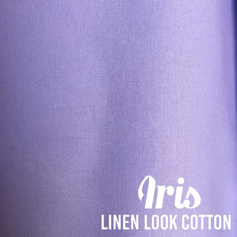Iris - Linen Look Cotton