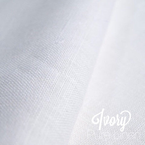 Ivory - Pure Linen