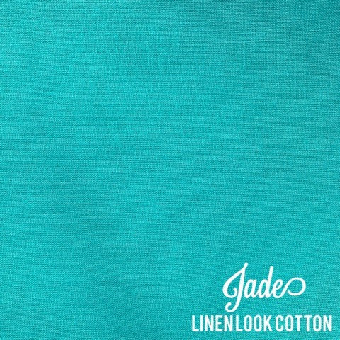 Jade - Linen Look Cotton