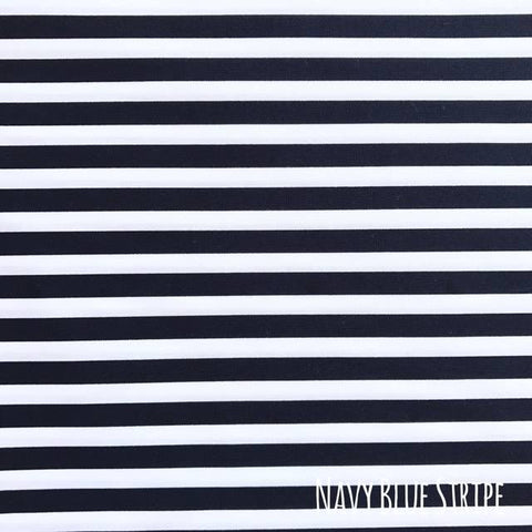 Navy Blue Stripe