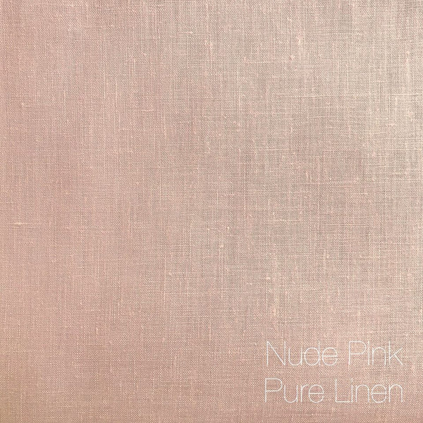 Nude Pink - Pure Linen