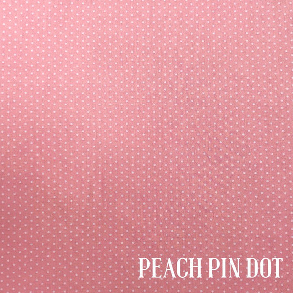 Peach Pin Dot