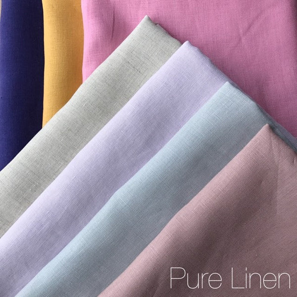 Pink - Pure Linen