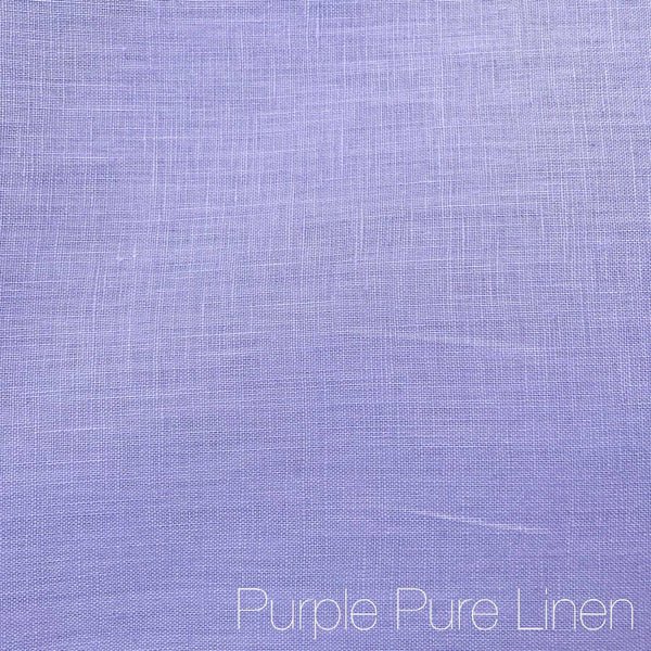 Purple - Pure Linen