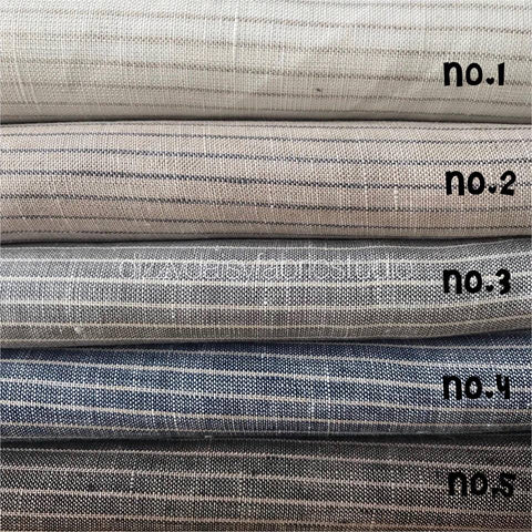 Pure Linen - Small Stripe Pattern