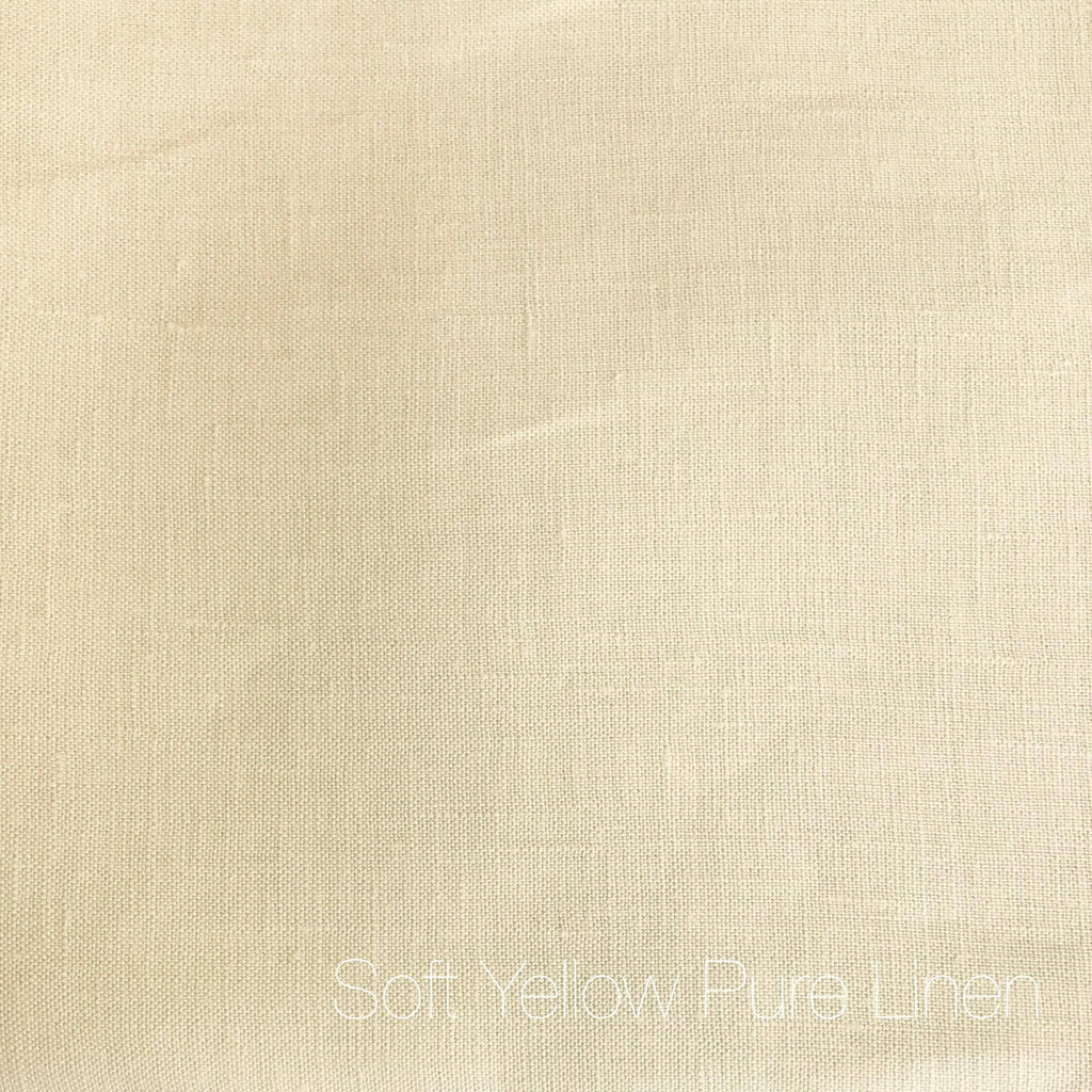 Soft Yellow - Pure Linen