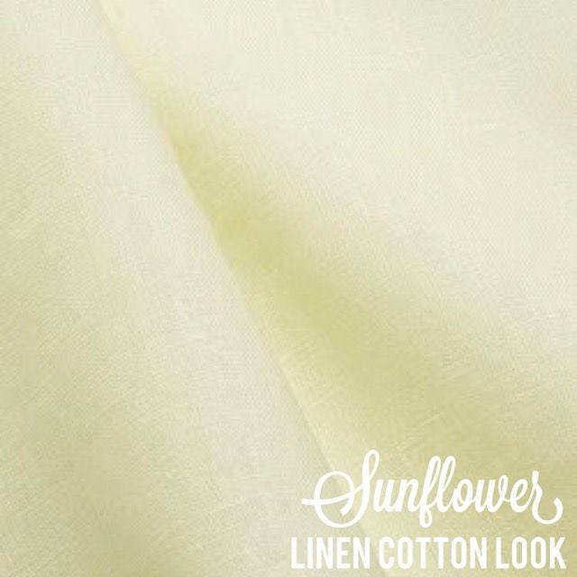 Sunflower - Linen Look Cotton