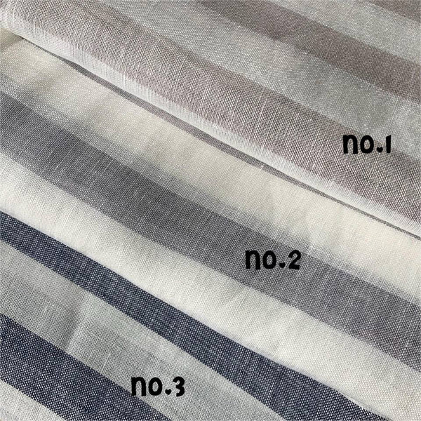 Pure Linen - Wide Stripe Pattern