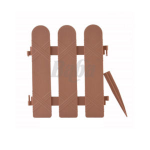 BABA No.307 Plastic Fencing, Brown (Pack)