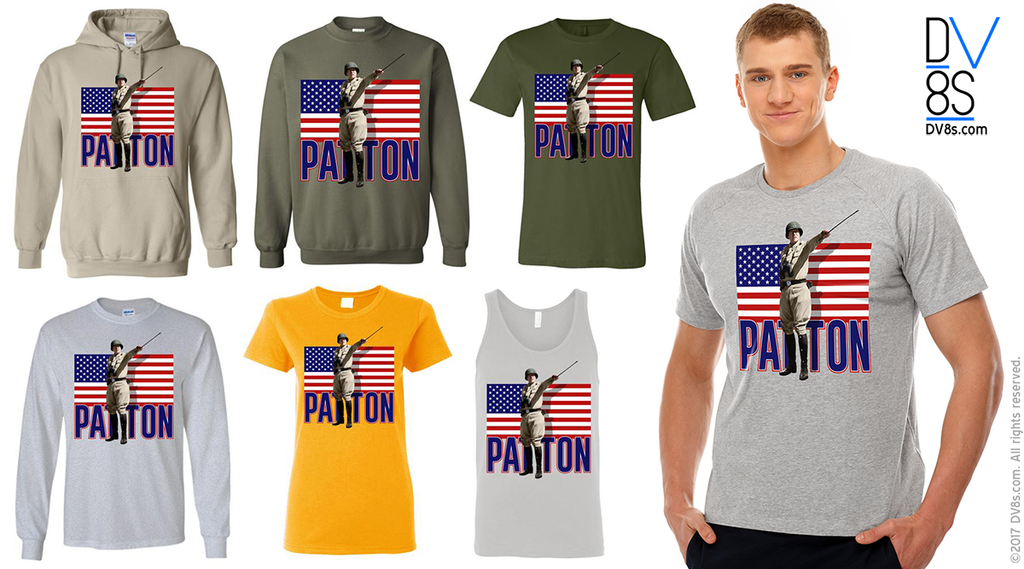 New General Patton U.S. Flag Design Added!