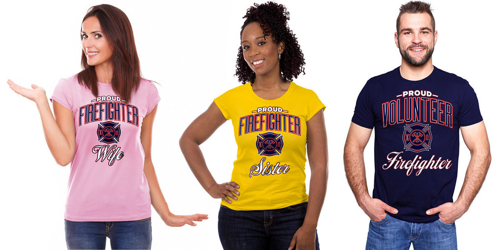 "New ""Proud Firefighter Family Collection"" Launched"