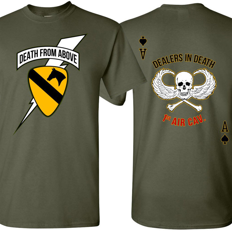 First Air Cav Death from Above/Dealers in Death T-shirt