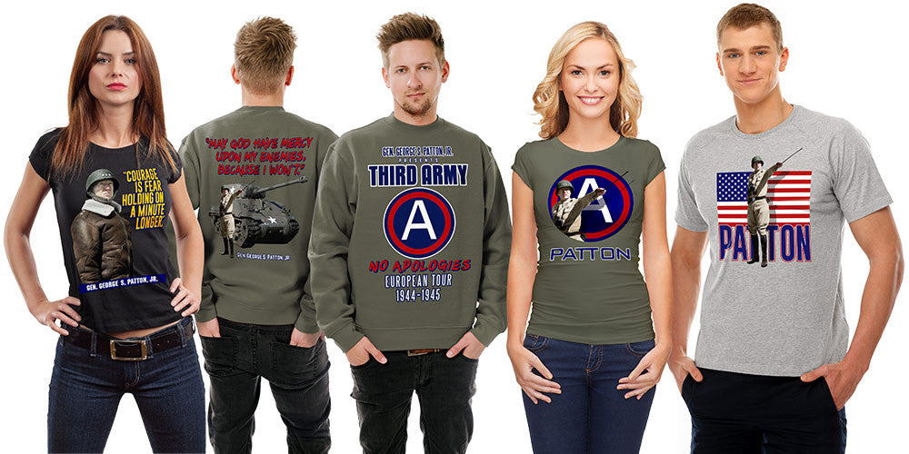 The General George S. Patton, Jr. Collection of casual apparel by DV8s.com