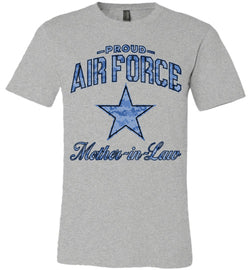 Proud Air Force Mother-in-Law Unisex T-Shirt (Camo)