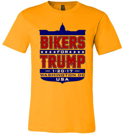Bikers for Trump Full Shield Unisex T-Shirt