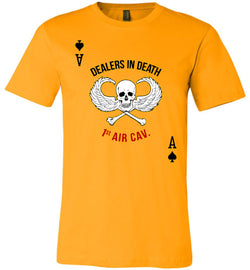 Dealers in Death - 1st Air Cav Army Unisex T-Shirt - by DV8s.com