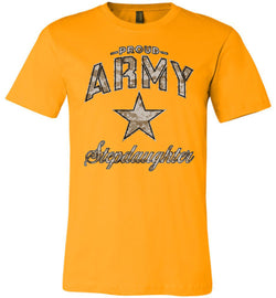 Proud Army Stepdaughter Camo Unisex T-Shirt