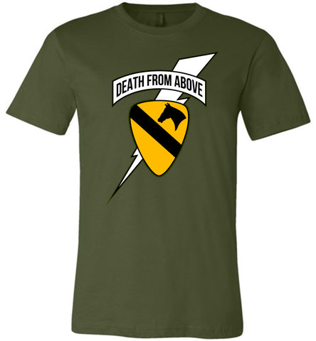 Death from Above - 1st Air Cav Army Unisex T-Shirt