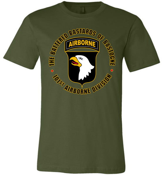 "101st Airborne ""Battered Bastards of Bastogne"" Unisex T-Shirt"