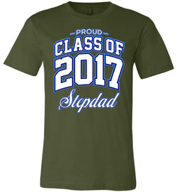 Proud Class of 2017 Stepdad Unisex T-Shirt