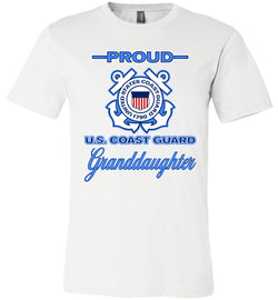 Proud U.S. Coast Guard Granddaughter Unisex T-Shirt