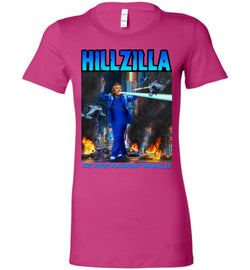 Anti-Hillary Hillzilla Bella Ladies Favorite Tee - by DV8s.com