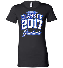Proud Class of 2017 Graduate Women's Bella T-Shirt