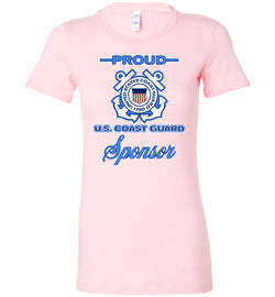 Proud U.S. Coast Guard Sponsor Women's T-Shirt